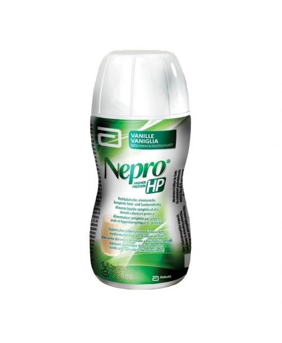Abbott Nepro Hp Integratore Alimentare Gusto Vaniglia 220ml - Farmapage.it