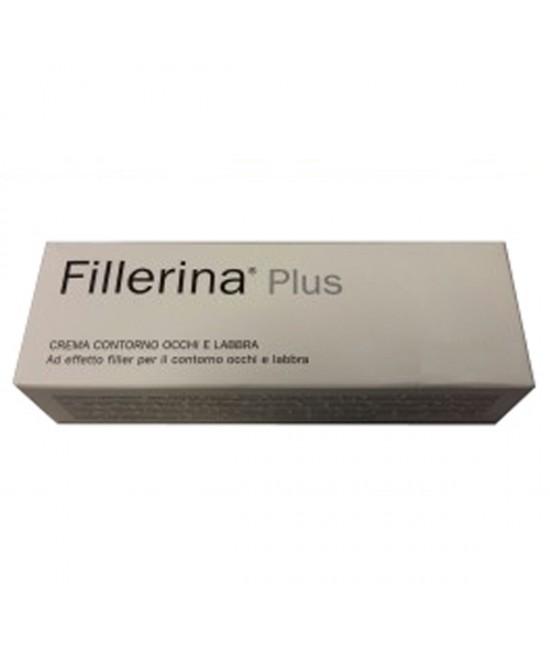 Labo Fillerina Plus Crema Contorno Occhi E Labbra Preparato Grado 4 Tubo 15ml