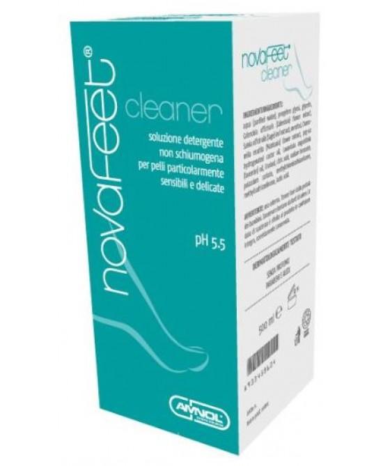 Novafeet Cleaner Soluzione Detergente Pelli Sensibili 500 ml