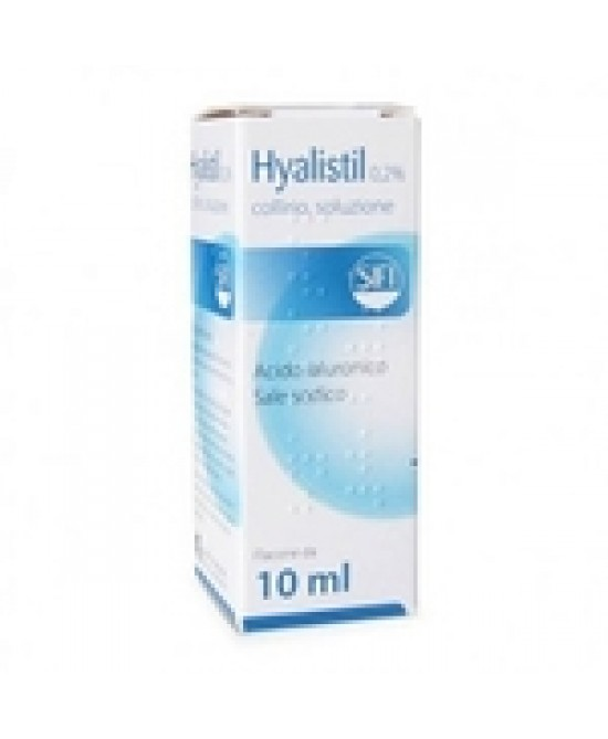 Hyalistil Bio Collirio 0,2% 10ml - FARMAEMPORIO