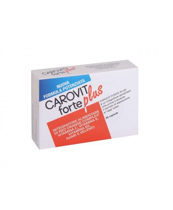 CAROVIT FORTE PLUS 30CPS - Parafarmacia la Fattoria della Salute S.n.c. di Delfini Dott.ssa Giulia e Marra Dott.ssa Michela