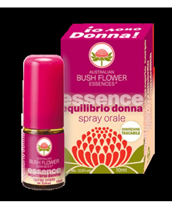 Bush Flower Essences Fiori Australiani Spray orale Equilibrio Donna 10 ml