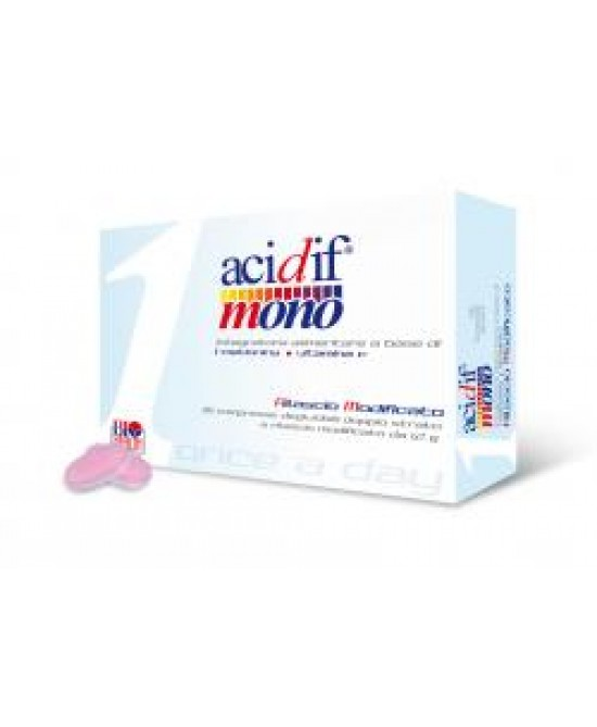 ACIDIF MONO 30 COMPRESSE - Farmaciaempatica.it