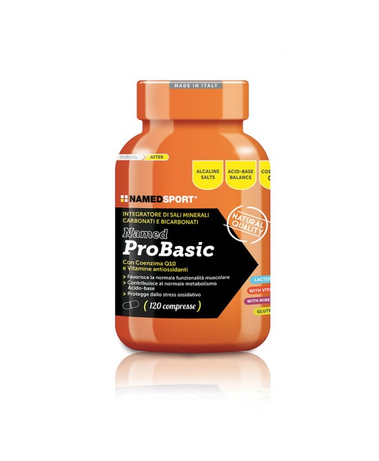 NamedSport ProBasic Integratore Alimentare 120 Compresse - farmaciadeglispeziali.it