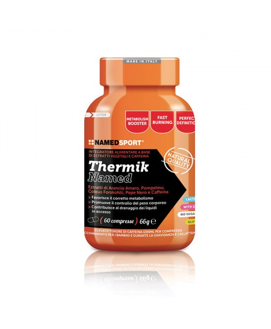 NamedSport Thermik Integratore Alimentare 60 Compresse - Spacefarma.it