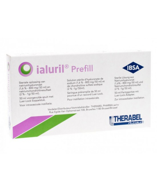 Ibsa Farmaceutici Ialuril Prefill 1 Siringa Da 50ml