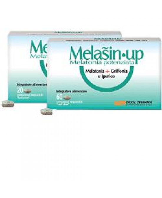 Melasin up Melatonina + Griffonia Pool Pharma 60 Compresse