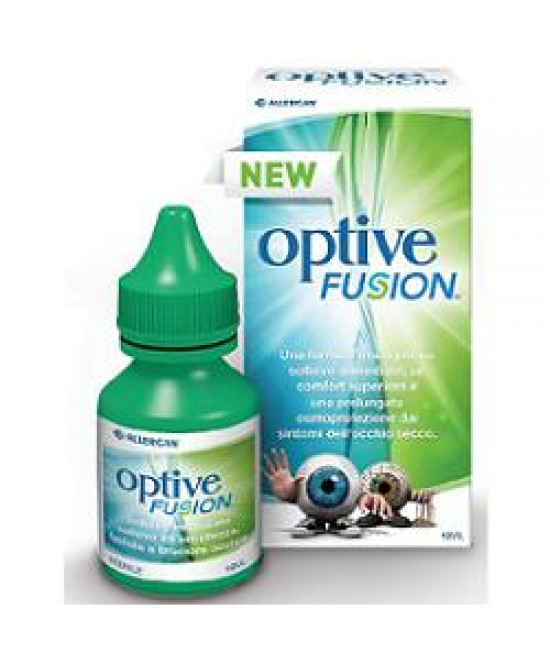 Allergan Optive Fusion Collirio Soluzione 10ml - Zfarmacia