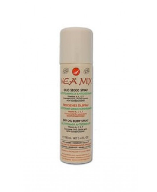 Vea Mix Olio Secco Spray Multivitaminico Antiossidante Non Comedogeno 100ml - Farmafamily.it