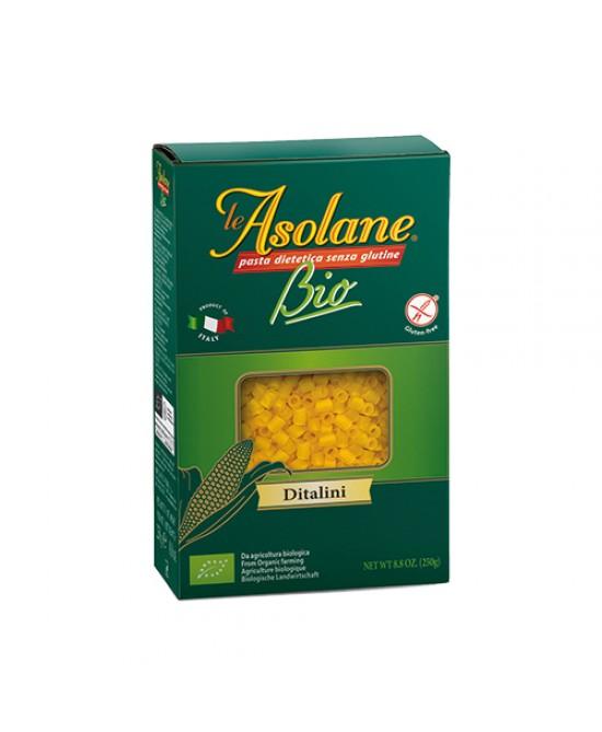 Le Asolane Bio Ditalini Pasta Biologica Senza Glutine 250 g