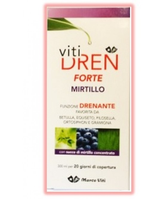 Vitidren Forte Mirtillo 300ml - Farmaunclick.it