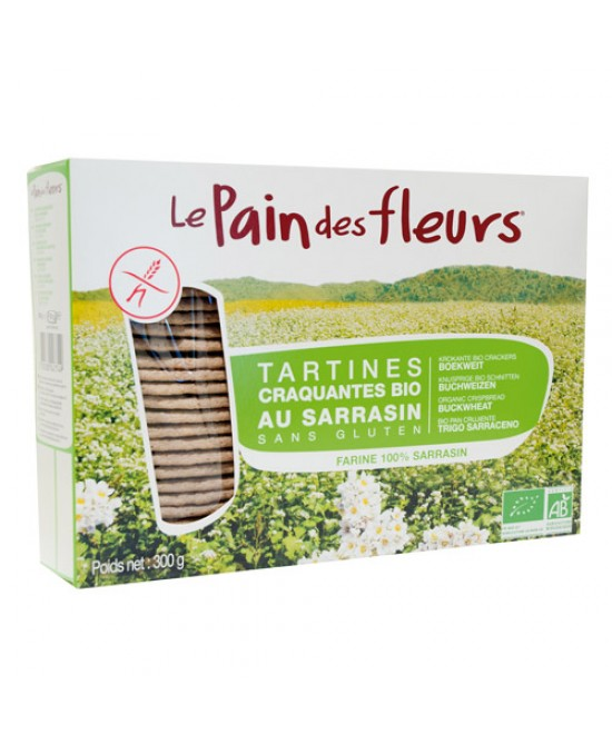 Priméal Le Pain De Fleurs Tartine Tostate Al Grano Saraceno Biologico 300g - Antica Farmacia Del Lago