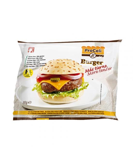 Proceli Panino Hamburger Monoporzione Biologico 90g - FARMAPRIME
