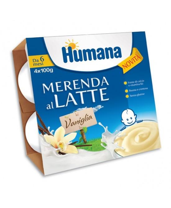 HUMANA MERENDA VANIGLIA 4X100G-933799886