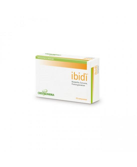Cristalfarma Ibidi' Integratore Alimentare 20 Compresse - Speedyfarma.it