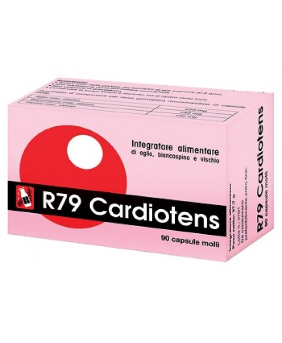 Imo R79 Cardiotens Integratore Cardiovascolare 90 Perle