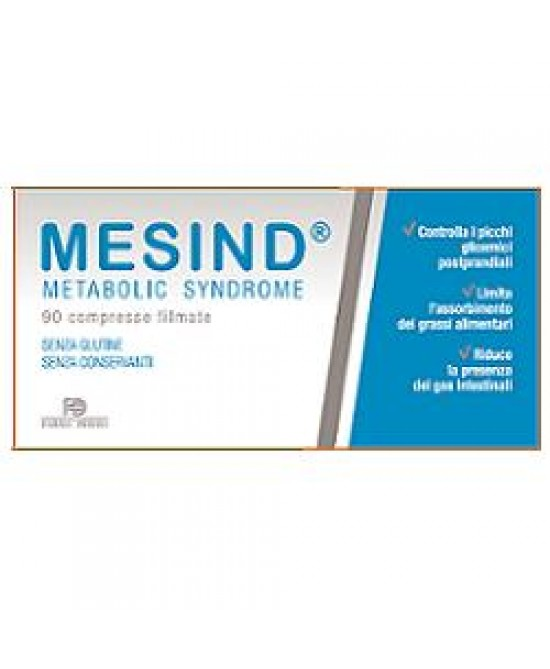 Mesind Metabolic Syndrome Benessere Gastro Intestinale 90 Compresse 470 mg