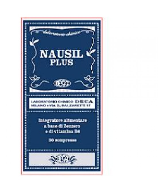 Nausil Plus 30cpr - Farmacia Giotti