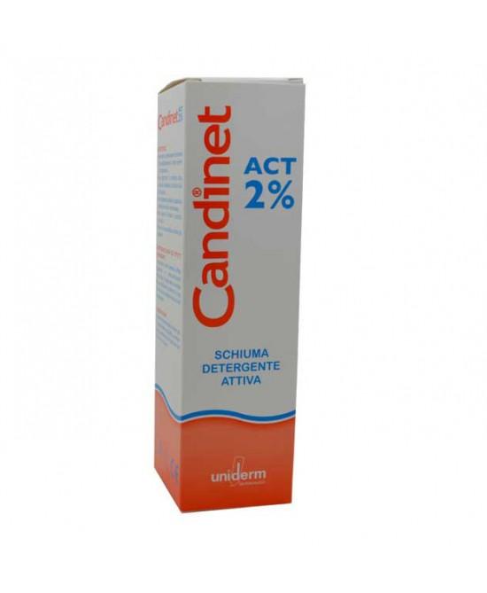 Uniderm Candinet Act 2% Schiuma Detergente Attiva 150ml -
