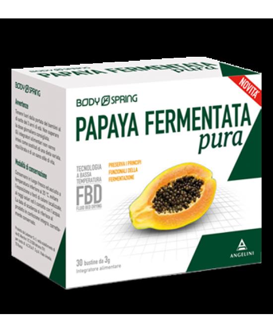 BODY SPRING PAPAYA FERM P 30BU prezzi bassi