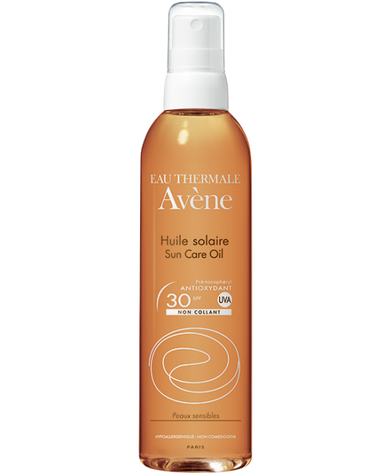 Avène Olio Solare Pelle Sensibile Spray Spf30 200ml - Farmaci.me