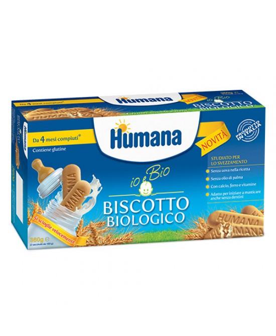 Humana Biscotto Biologico 360g - Spacefarma.it
