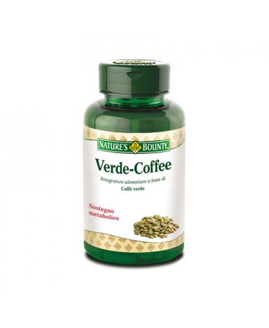Nature's Bounty Verde-Coffee Integratore Alimentare 60 Capsule