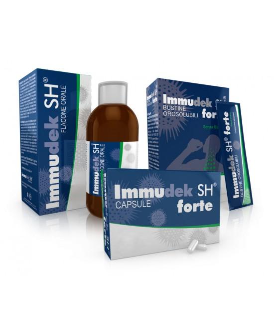 Immudek Sh Forte 16bust - La farmacia digitale