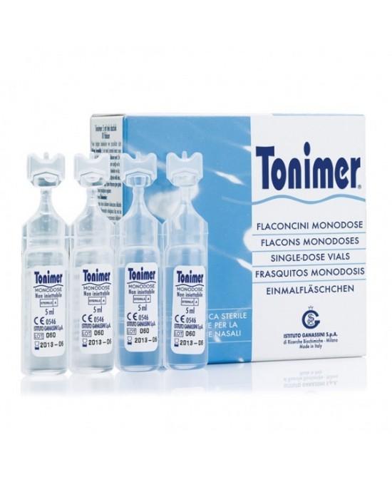 Tonimer Monodose 12 flaconcini da 5ml - Farmapage.it