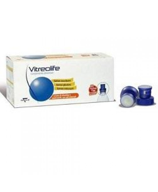 Vitreolife Integratore Vitamine e Sali Minerali Benessere Vista 20 Bustine