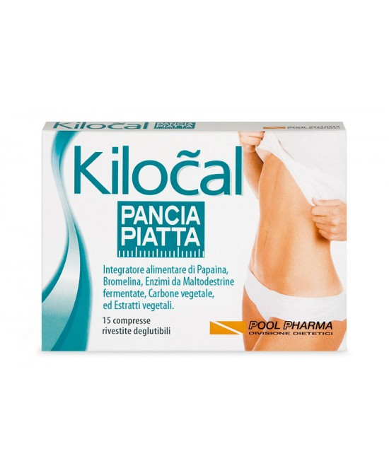 Kilocal Pancia Piatta Integratore Alimentare 15 Compresse - Farmia.it