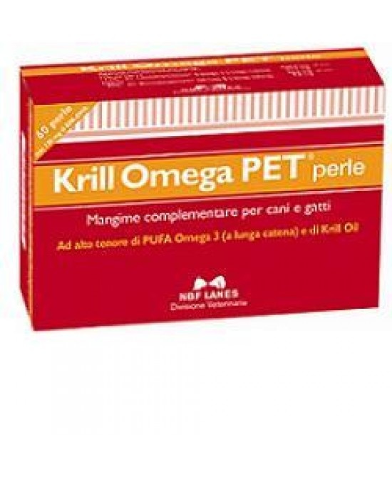 Krill Omega Pet 60prl - Farmastar.it