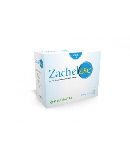 Pharmaluce Zachelase Integratore Alimentare 20 Bustine