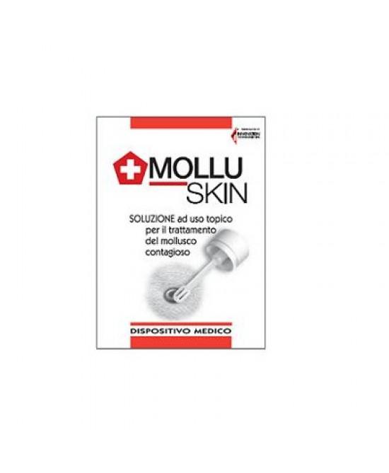 Molluskin Trattamento Mollusco Contagioso Soluzione 5ml - Farmabros.it