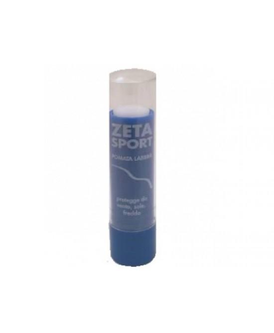 Zeta Sport Stick Labbra Bianco