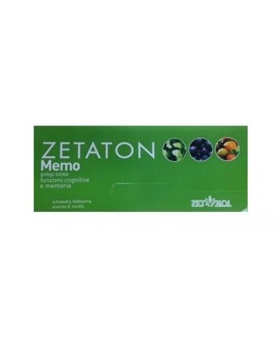 Zetaton Memo 12fl 10ml - Spacefarma.it