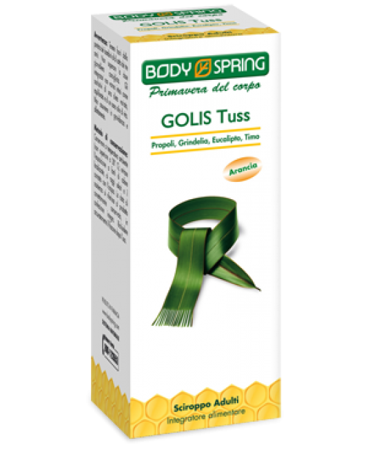 Body Spring Golis Tuss Sciroppo Adulti - La farmacia digitale