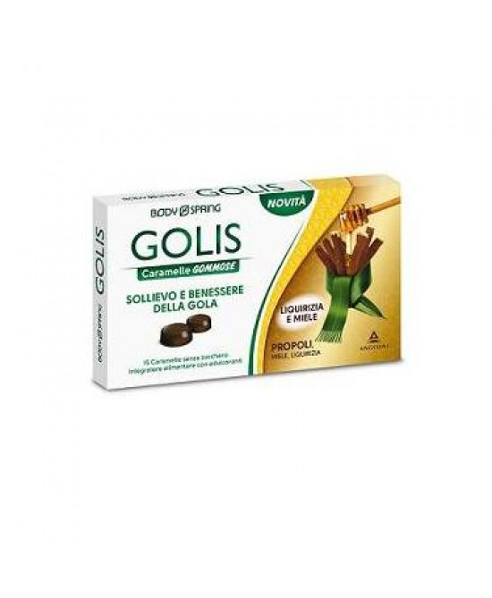 Body Spring Golis Caramelle Liquirizia E Miele - farma-store.it
