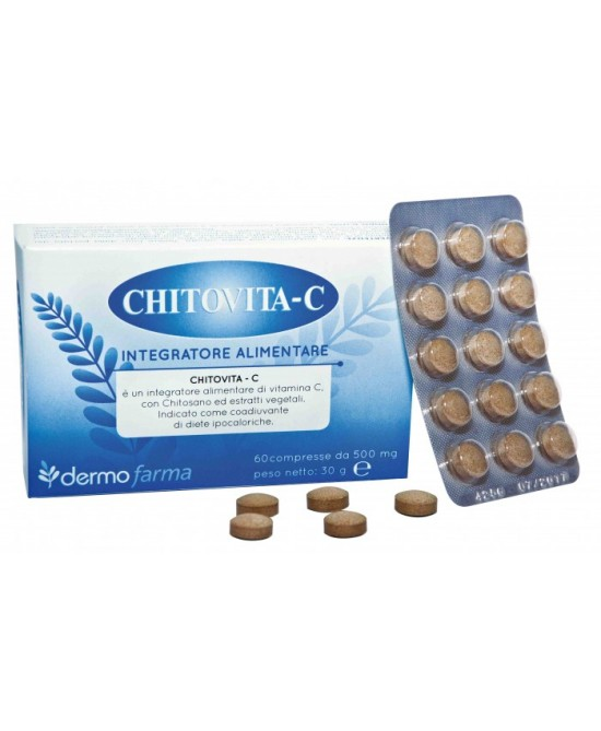 Dermofarma Chitovita C Integratore Alimentare 60 Compresse