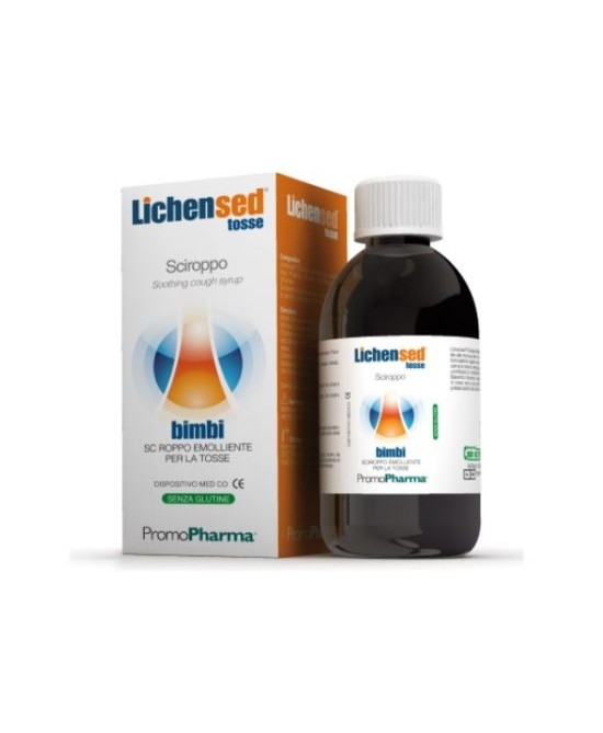 PromoPharma Dispositivi Medici Lichensed Sciroppo Bimbi 200ml - Farmabellezza.it