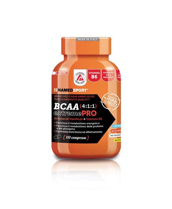 Named Bcaa 4:1:1 ExtremePro Integratore Alimentare 110 Compresse  - FARMAPRIME
