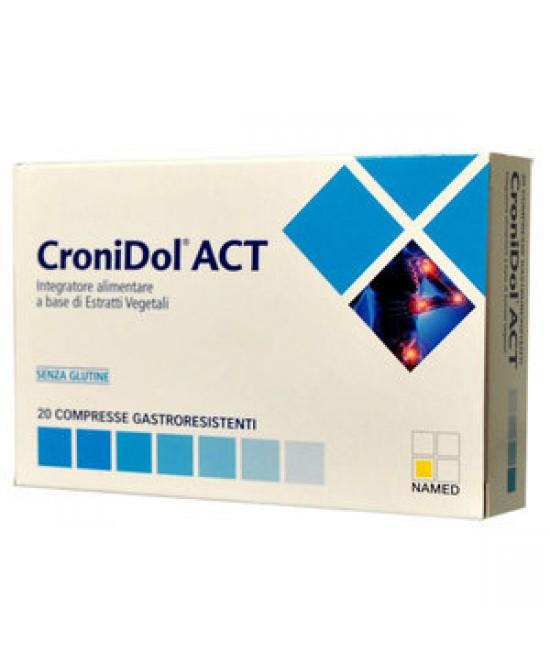 Named CroniDol ACT Integratore Alimentare 20 Compresse - Farmaciaempatica.it