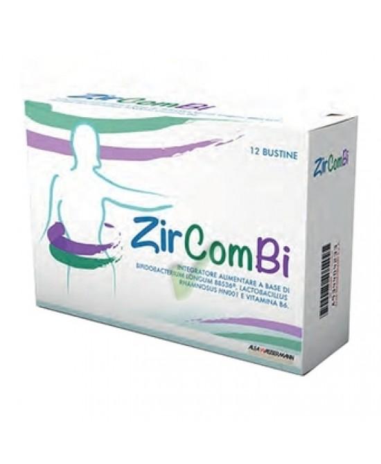 Alfa Wassermann ZirComBi Integratore Alimentare 12 Bustine Da 3g prezzi bassi
