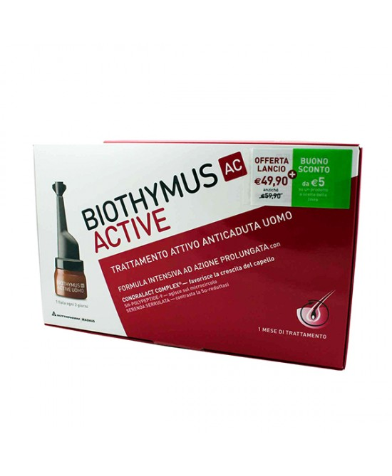 Biothymus Ac Active Trattamento Uomo 10 Fiale - Farmapage.it
