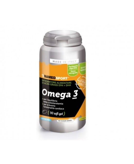 Named Omega 3 Integratore Alimentare 90 Capsule Softgel - Farmaci.me