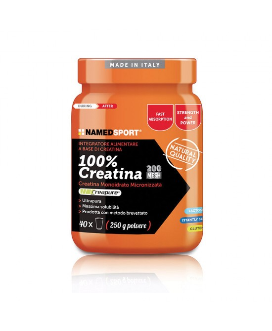 Named Sport 100% Creatina Integratore Alimentare 250g - Farmastar.it