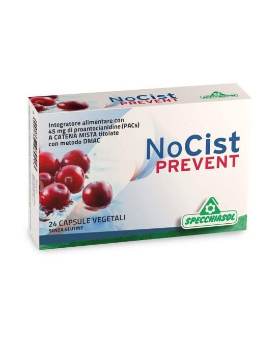 Specchiasol Nocist Prevent Integratore Alimentare 24 Capsule - Farmaconvenienza.it