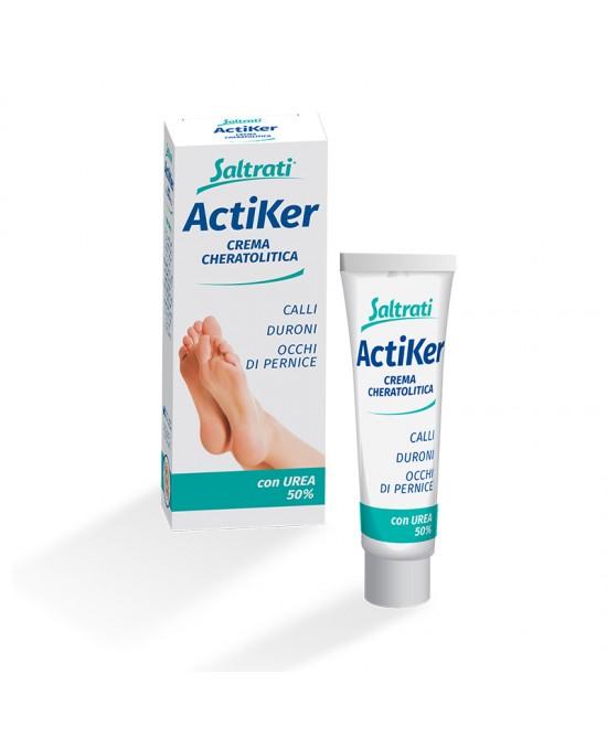 Saltrati ActiKer Crema Cheratolitica Con Urea 50%   15ml - Zfarmacia