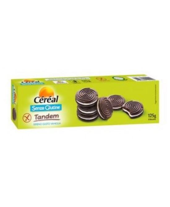 Céréal Tandem Biscotti Senza Glutine 125g