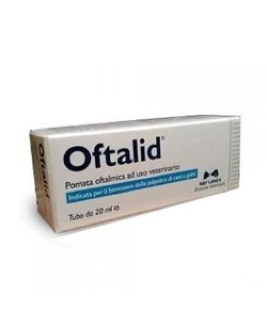 Oftalid Pomata Oftalmica 20ml - Farmaci.me